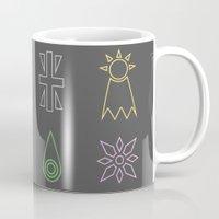 digimon Mugs featuring Digimon by tukylampkin