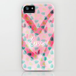 Steamy Summer Love iPhone Case