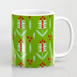 Lingonberry pattern - By Matilda Lorentsson Coffee Mug