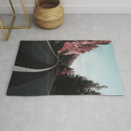 Road Red Mountain Rug