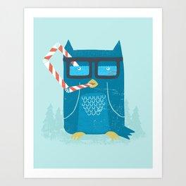 The Owls Glasses Art Print