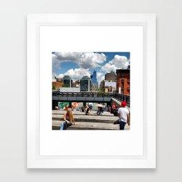 New York: High Line Framed Art Print