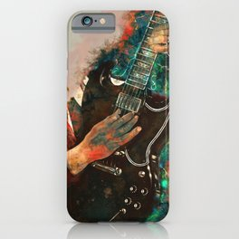 Angus Young's Guitar iPhone Case