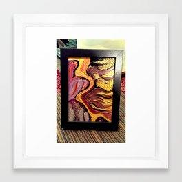 Gold Run Framed Art Print