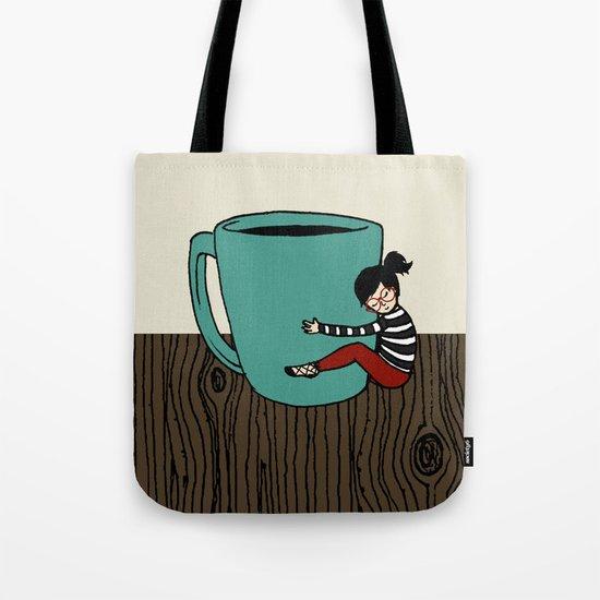 Coffee Mug Love Tote Bag