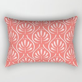 Boho red Rectangular Pillow