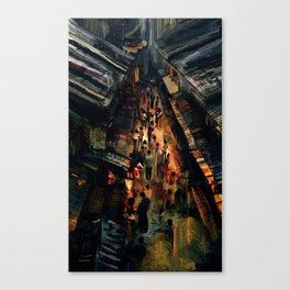 Pyesta: The Night Feast Canvas Print