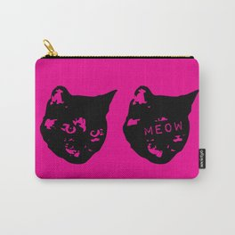 Pink/Red Tortoiseshell Meow Carry-All Pouch