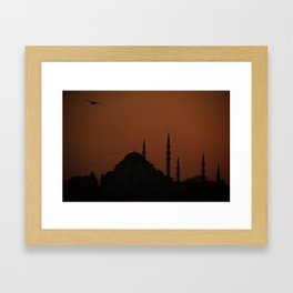 Istanbul No:2 Framed Art Print