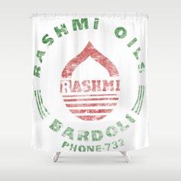 Rashmi Oils Vintage Shower Curtain