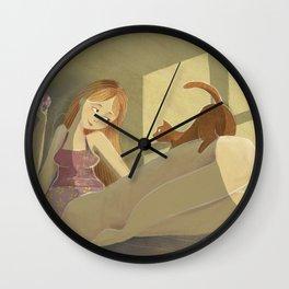 Me & my kitty Wall Clock