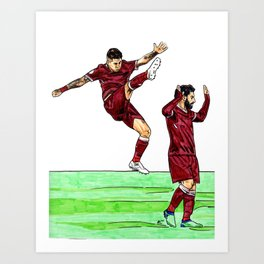 Bobby and Mo Art Print