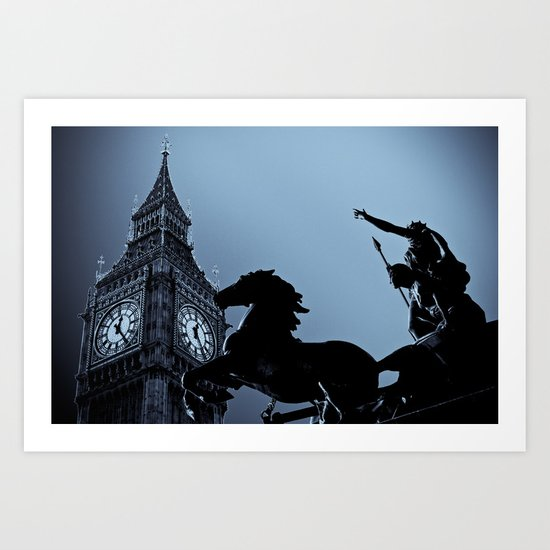 Big Ben And Boudica Art Print