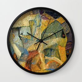 Dance of Colours, Birth of Shape Wall Clock