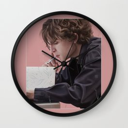 TURN MY HEART TO ASHES Wall Clock