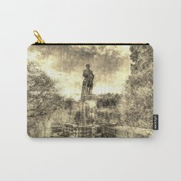 Allan Ramsey And Edinburgh Castle Vintage Carry-All Pouch