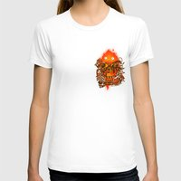 pocket T-shirts featuring Pocket Calcifer by Natalie
