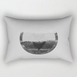 creatura avium (rooster in peru)  Rectangular Pillow