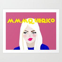 mmmquerico Art Print