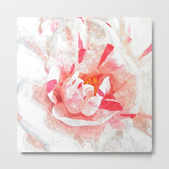 Winter Pink Metal Print