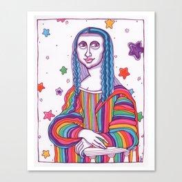 Mona Lisa Frank Canvas Print
