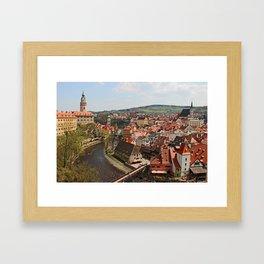 Little Czech Framed Art Print