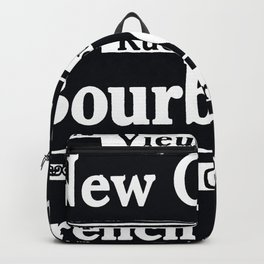 NEW ORLEANS FRENCH QUARTERS Backpack