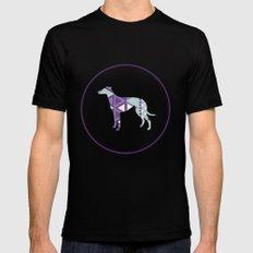 Greyhound Geometri Mens Fitted Tee MEDIUM Black
