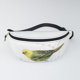 Mr Mohua , yellowhead New Zealand native bird Fanny Pack