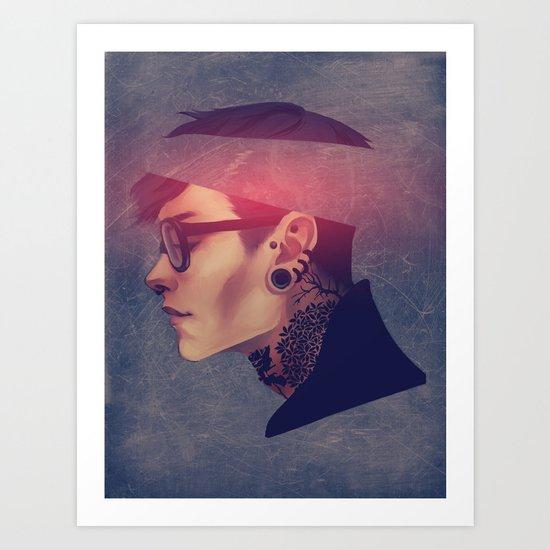 namemarcus Art Print