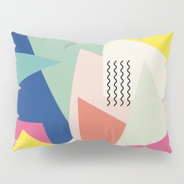 Shapes and Waves Pillow Sham