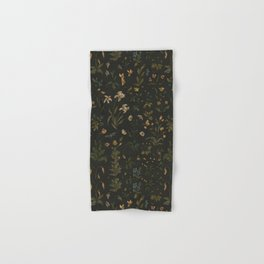 Old World Florals Hand & Bath Towel