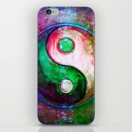 Yin Yang - Colorful Painting VII iPhone Skin