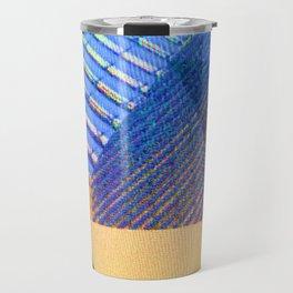 Geometric, Architectural Colorful Graphic Designs Travel Mug