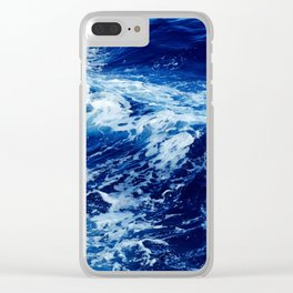 Wild Ocean Clear iPhone Case