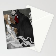 Dracula and Lucy Stationery Cards