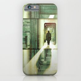 Crossing Over iPhone Case