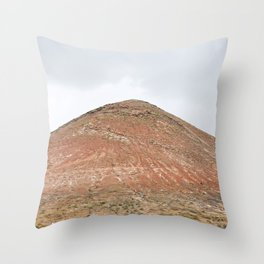 Man on Lanzarote Throw Pillow