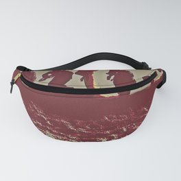 Soldiers on Crest of Hill WWI Fanny Pack