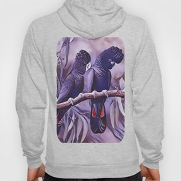 Red Tailed Black Cockatoo Hoody