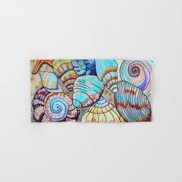 Belizean Shells Hand & Bath Towel