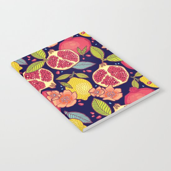 Mysterious tropical garden. Notebook