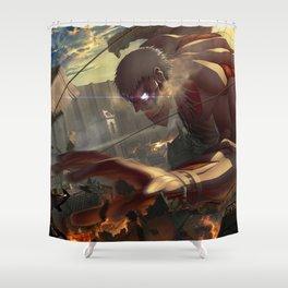 Attack On Titan Shower Curtain