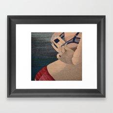 Undressing 3 Framed Art Print