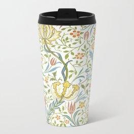 William Morris Flora Metal Travel Mug