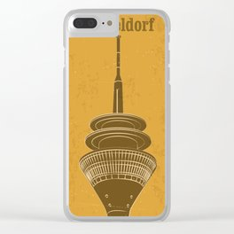 dusseldorf 2 Clear iPhone Case