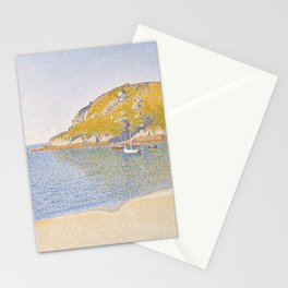 Port of Saint-Cast Stationery Cards