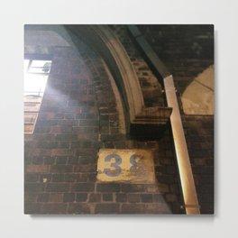 #181Photo #200 / 38 yellow bricks / #Light #YellowFound Metal Print
