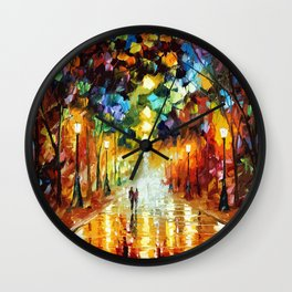 Romantic Starry Night Wall Clock