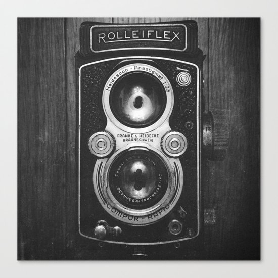 The King of Cameras - The Rolleiflex Canvas Print